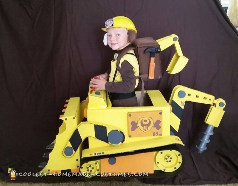 Awesome Rubble from PAW Patrol Costume