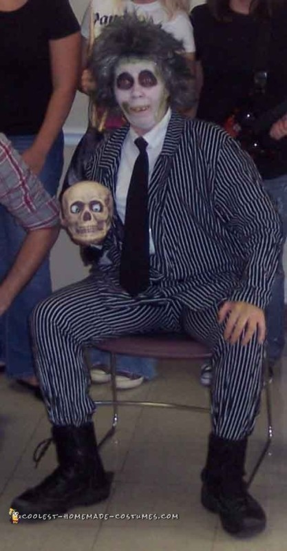 DIY Beetlejuice Costume