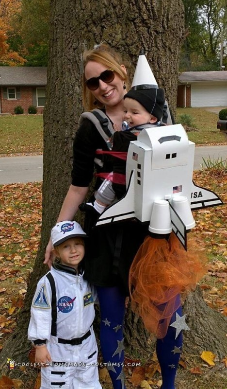 Baby Carrier Rocket and Astronaut Halloween Costumes