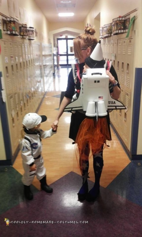 Baby Carrier Rocket and Astronaut Halloween Costumes - 2