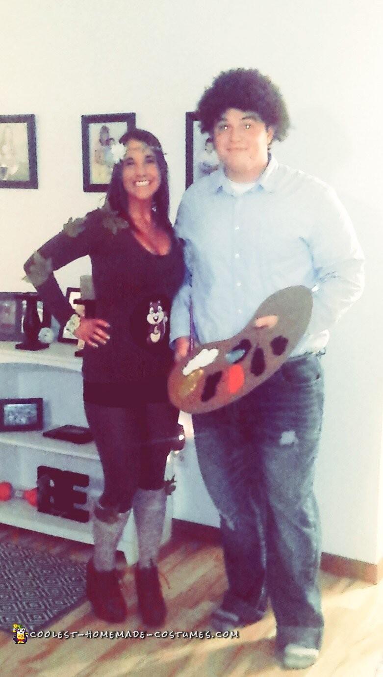 Bob and his Happy Tree Couple Costume