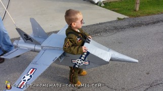 Navy Jet Toddler Costume