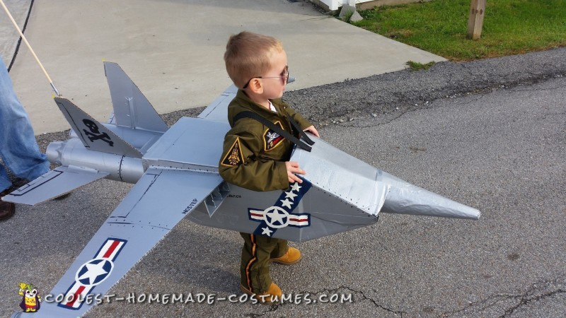 Navy Jet Toddler Costume