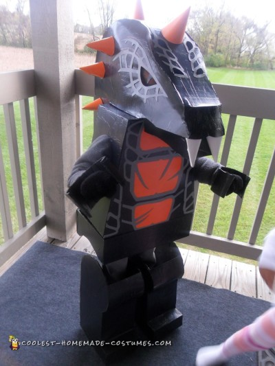 DIY Bytar Ninjago Lego Costume - Not Found in Stores!