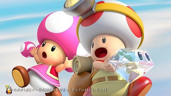 Captain Toad & Toadette
