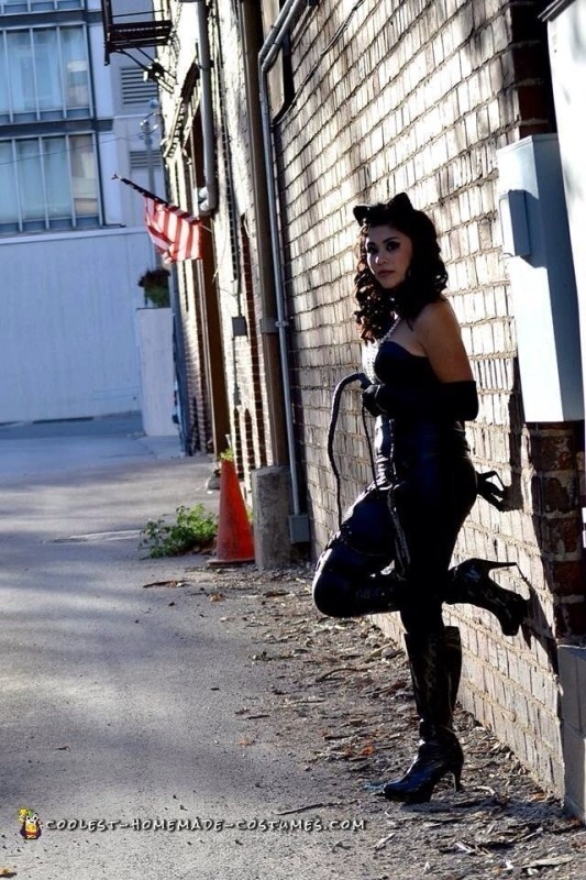 Catwoman Costume in Downtown - 5