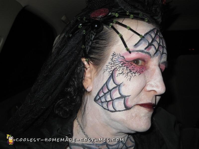 Black Widow Spider Bride Costume