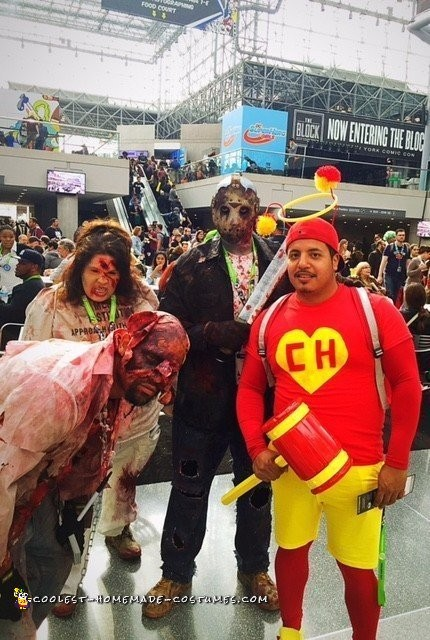 Comic Con El Chapulin Colorado Tribute Costume