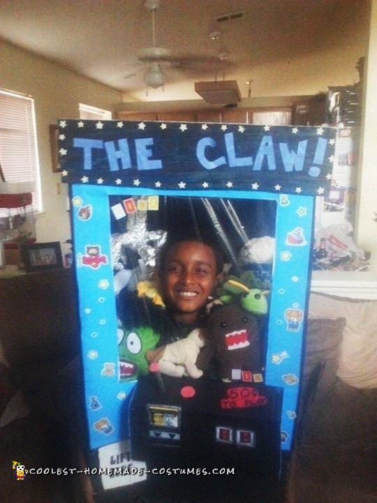 Cool Homemade Crane Machine Costume - The Claw