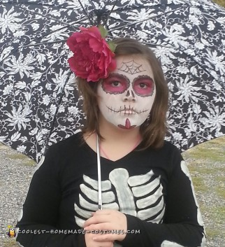 Cool and Simple Day of the Dead Skeleton Costume