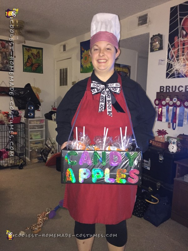 Coolest Candy Apple and Vendor Costumes