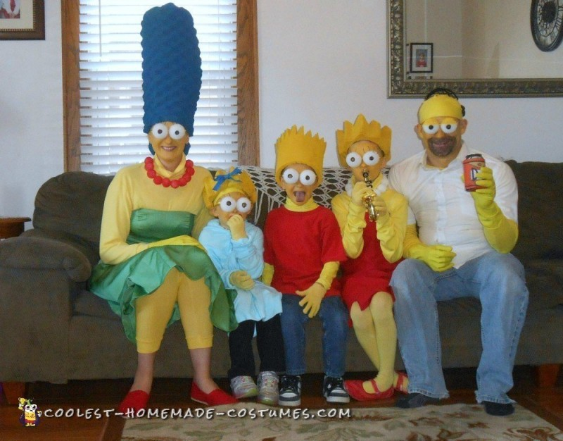 Coolest DIY Simpsons Costumes Ever