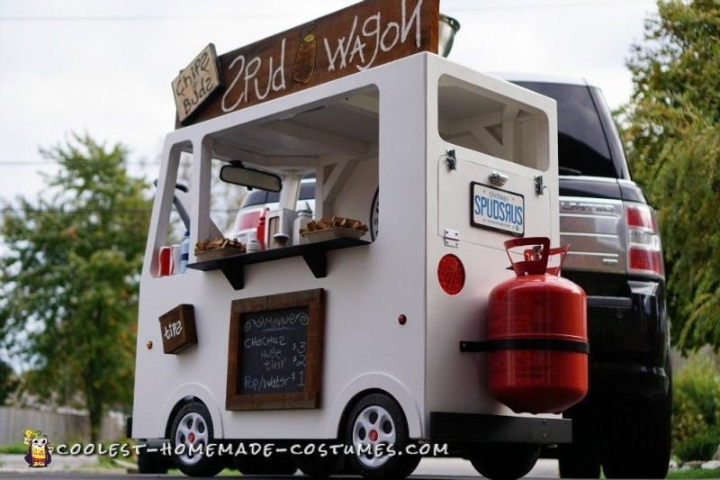 Spud Wagon Helium Tank Power