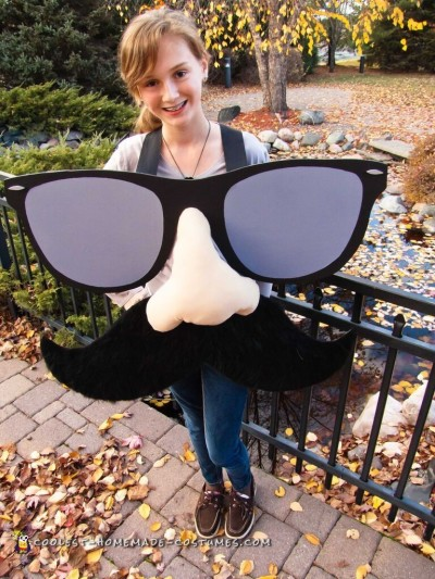 Creative Mustache Costume for All Ages!