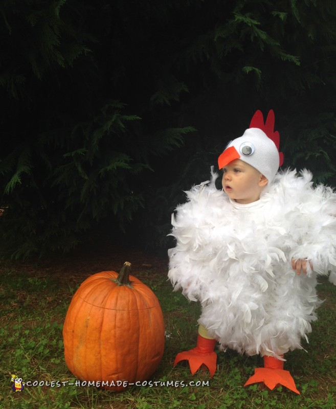Cutest Baby Chicken Costume Ever