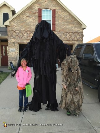 Ten Feet Tall Death Costume