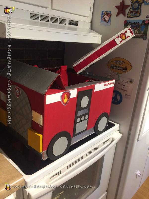DIY Paw Patrol Toddler Costume - 2