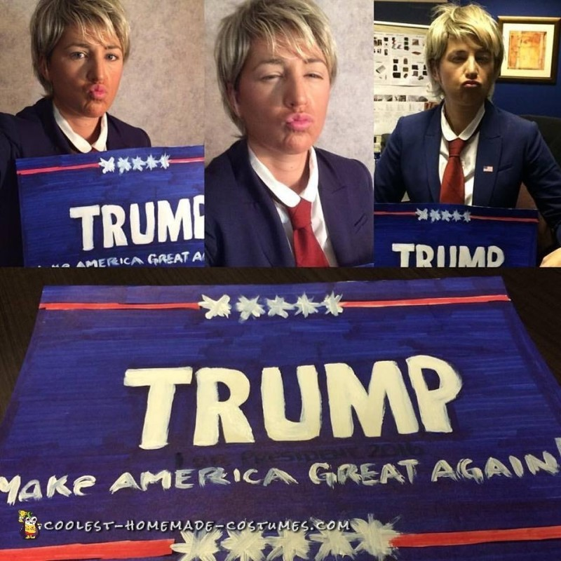 Hilarious Donald Trump Costume