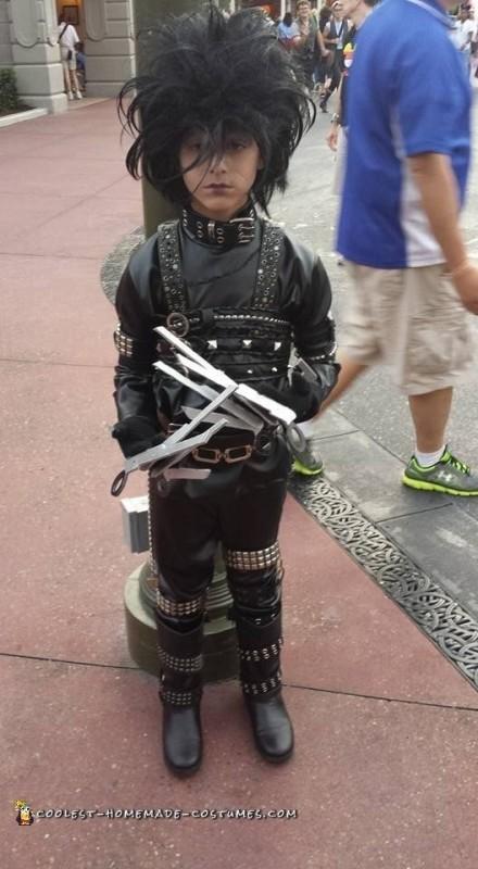 Edward Scissorhands Halloween Costume - 1