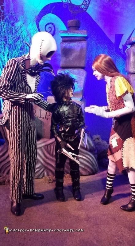 Edward Scissorhands Halloween Costume - 4