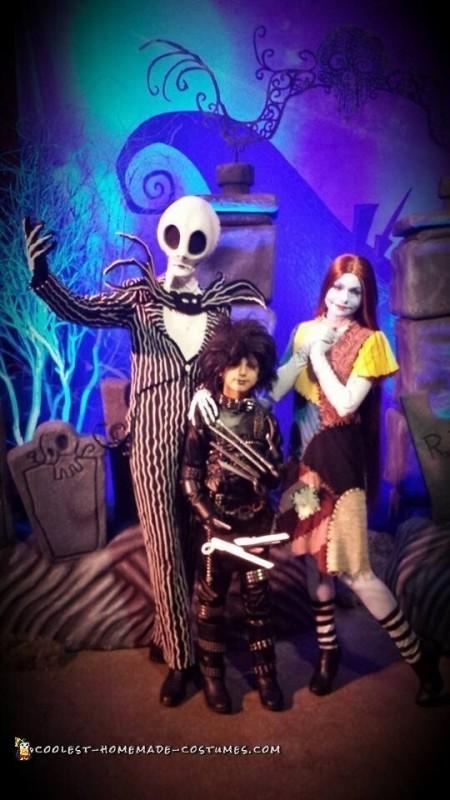 Edward Scissorhands Halloween Costume - 5