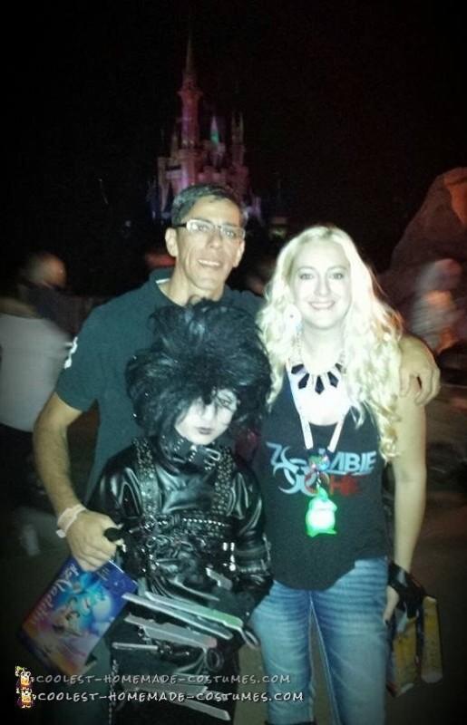 Edward Scissorhands Halloween Costume - 6