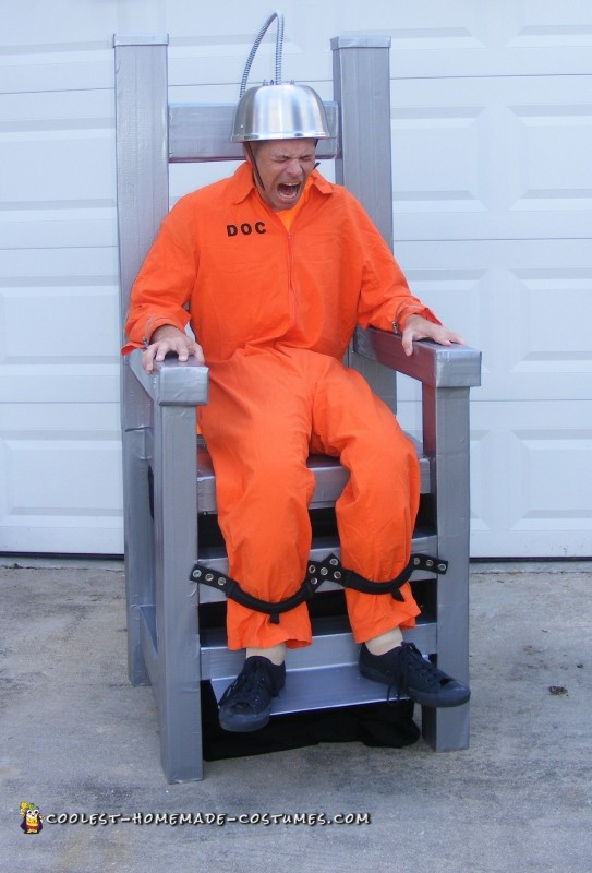 Electric Chair Optical Illusion Costume