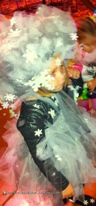 Elsa's Snow Storm Costume - 2