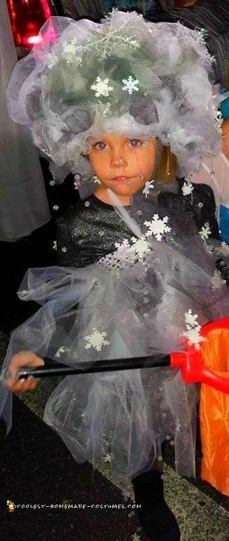 Elsa's Snow Storm Costume - 3
