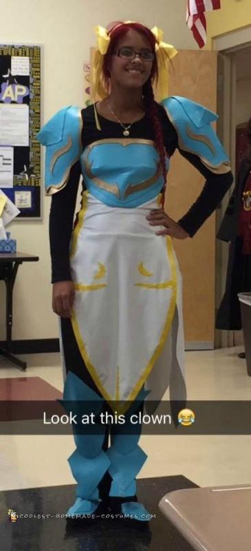 Erza Inspired Halloween Cosplay Costume - 1