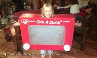 Etch-a-Sketch Costume