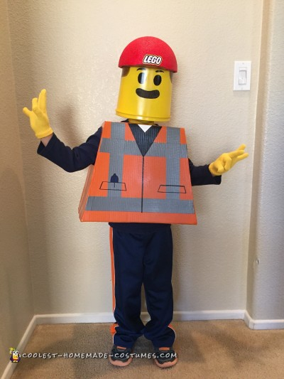 Awesome Lego Movie Costume - Emmet
