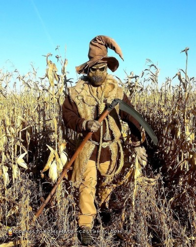 Evil Scarecrow Costume - Scarecrow of The Corn!