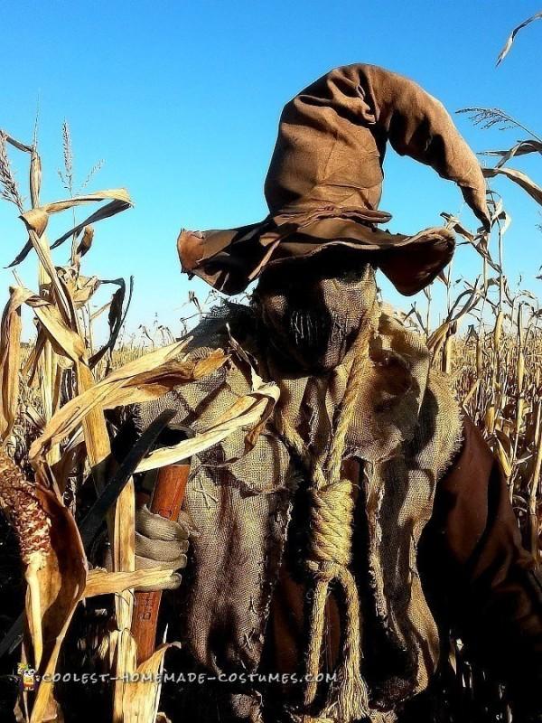 Evil Scarecrow Costume – Scarecrow of The Corn! - 1