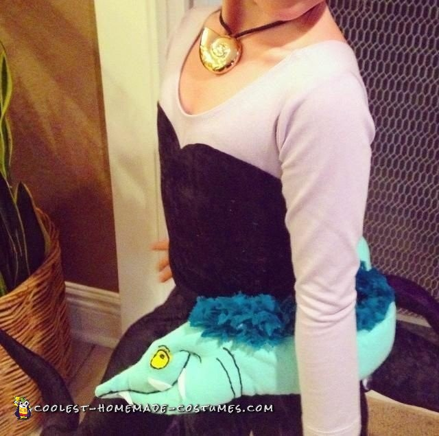 Fantastic Homemade Child Villain Costume - Ursula