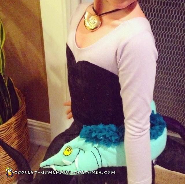 Fantastic Homemade Child Villain Costume – Ursula - 4