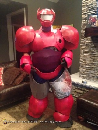 Awesome Foam Build Baymax Costume