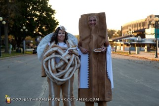 Funnel Cake and Churro Couple Costume
