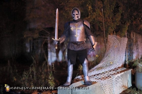 Homemade Knight of the Living Dead Costume