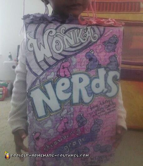 Homemade Nerds Candy Costume - 1