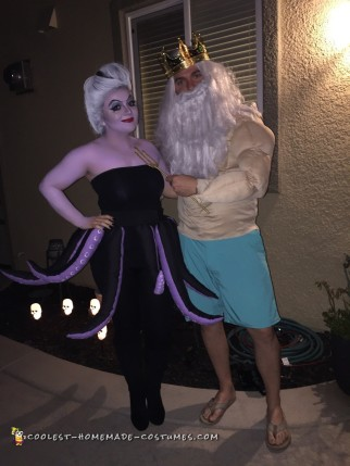 Homemade Ursula Costume, All Done in One Night!
