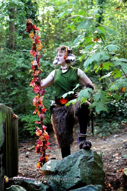 Renaissance Festival Faun Costume - 3