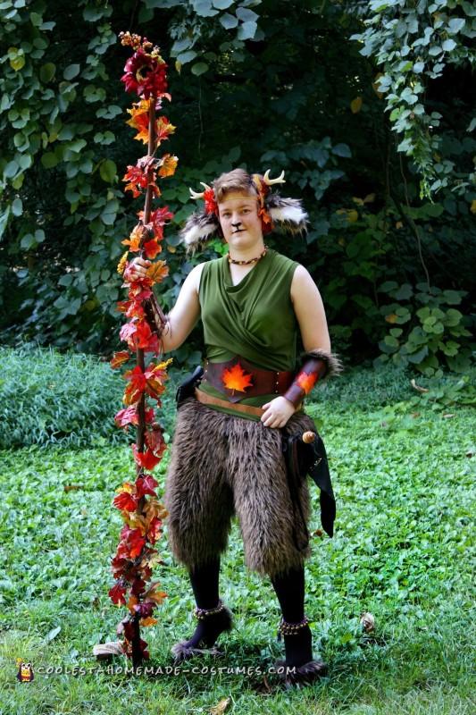 Renaissance Festival Faun Costume