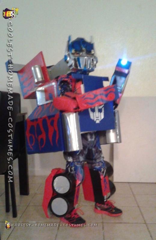 Incredible Optimus Prime Transformer Costume