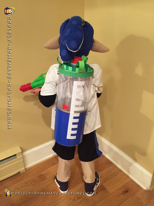 Inkling Boy Costume From Splatoon