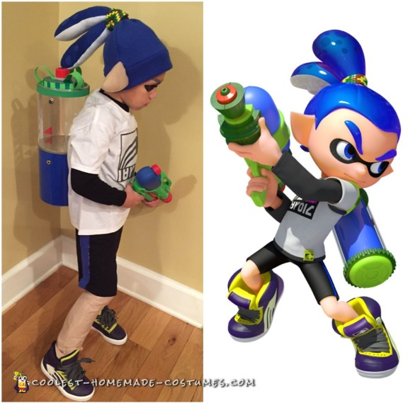 Inkling Boy Costume from Splatoon