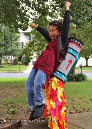 Cool Jet Pack Illusion Costume