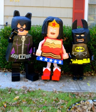 Lego Superhero Group Costume