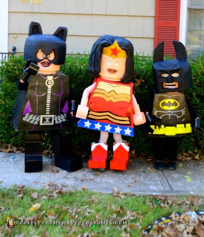 Lego Superhero Group Costume