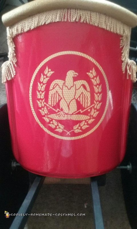 Iconic Roman War symbol